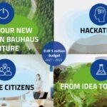 5 milijuna EURA Europskog insitituta za inovacije i tehnologiju za razvoj inovativnih ideja u okviru novog europskog Bauhausa